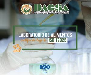 Laboratorio de alimentos -BAGSA-ISO 17025